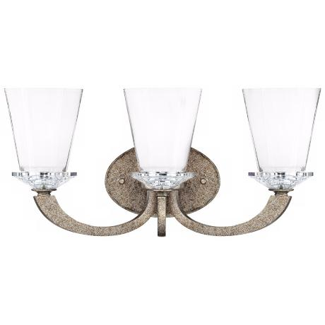 "Forum Gold Dust 3-Light 19"" Wide Savoy House Sconce"