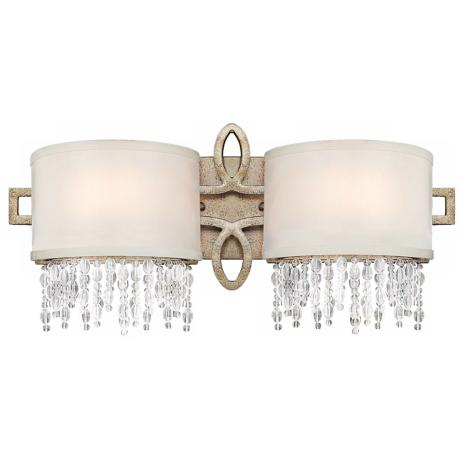 "Palais Gold Dust 2-Light 18 1/2"" Wide Savoy House Sconce"