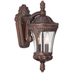 "Kent Place 15 3/4"" High Bronze Outdoor Wall Light"