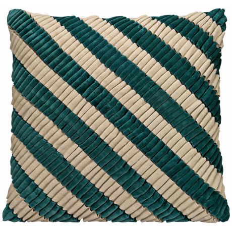 Jamie Young Turquoise Loop Accent Pillow