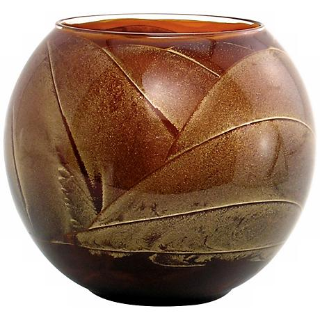 "Esque™ 4"" Mahogany Candle Globe with Gift Box"