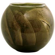 "Esque™ 4"" Olive Candle Globe with Gift Box"