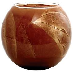 "Esque™ 4"" Terra Cotta Candle Globe with Gift Box"