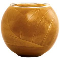 "Esque™ 4"" Caramel Candle Globe with Gift Box"
