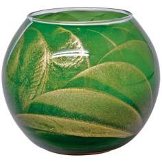 "Esque™ 4"" Emerald Green Candle Globe with Gift Box"