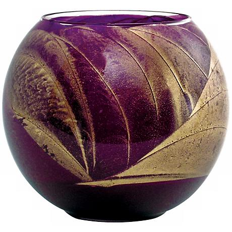 "Esque™ 4"" Amethyst Candle Globe with Gift Box"