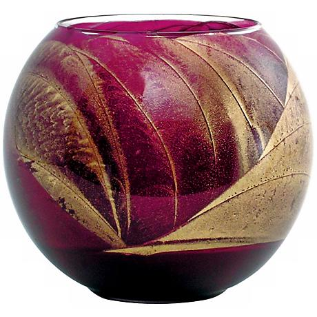 "Esque™ 4"" Fuchsia Candle Globe with Gift Box"