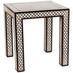 Jamie Young Mughal Bone Side Table