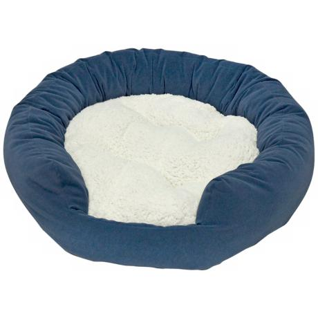 Happy Hounds Murphey Denim Medium Donut Dog Bed