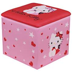 Hello Kitty Kids Storage Ottoman