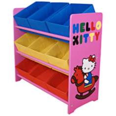 Hello Kitty Multi-Color Fun Kids Storage Unit