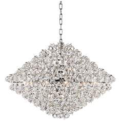 "Vienna Full Spectrum 31 1/2"" Wide Crystal Chandelier"