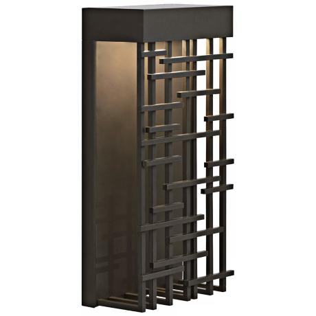 "Pier 60 Bronze 14 1/2"" High LED Outdoor Wall Light"