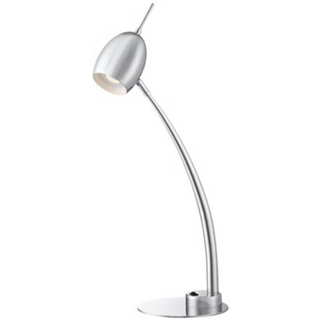 Futuro Chrome LED Desk Lamp