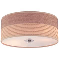 "Relaxar 14"" Wide Flush Mount Ceiling Light"