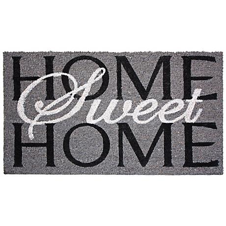 Home Sweet Home Printed Coir Doormat
