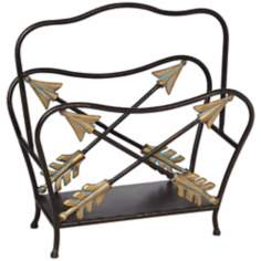 Decorative Iron Log Holder