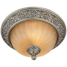 "Kathy Ireland Sterling Estates 14"" Wide Ceiling Light"