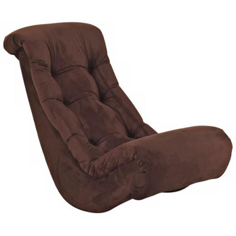 Chocolate Banana Rocker Chair