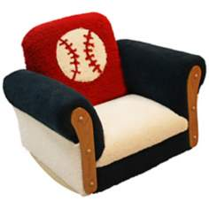 Deluxe Kids Baseball Rocker Chair