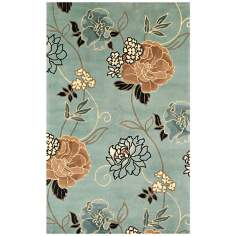 Catalina Collection Blue Paradise Area Rug