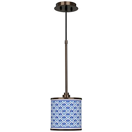 Arabella Giclee Glow Bronze Mini Pendant Light