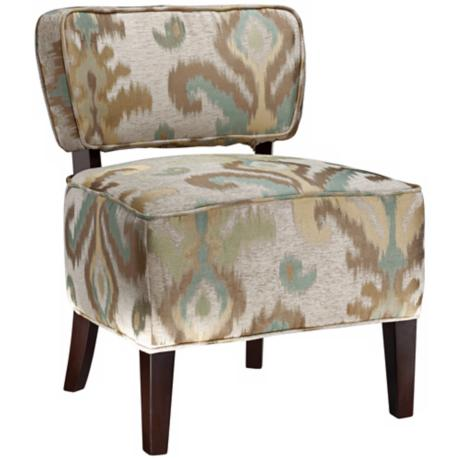 Ald Fancy Allesandra Armless Club Chair