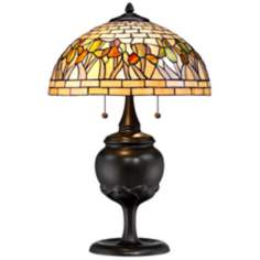 Iris Floral Robert Louis Tiffany Table Lamp