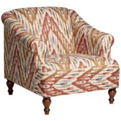 Avery Chevron Armchair