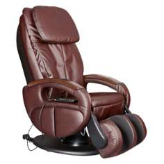 Brown Full Body Reclining Massage Chair