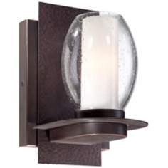 "Luminary 9 1/2"" High Bronze Wall Sconce"