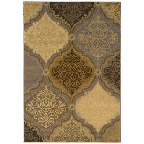 Oriental Weavers Stella 3165E Grey Gold Area Rug