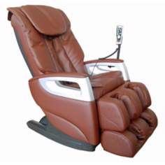 Brown Faux Leather Shiatsu Massage Chair