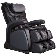 Black Zero Gravity Heated Shiatsu Massage Chair