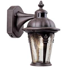 "Quintessence 12 1/2"" High Outdoor Motion Sensor Wall Sconce"