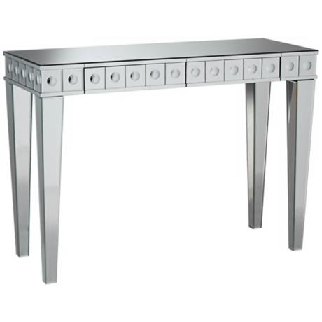 Stella 2-Drawer Mirror Sofa Table