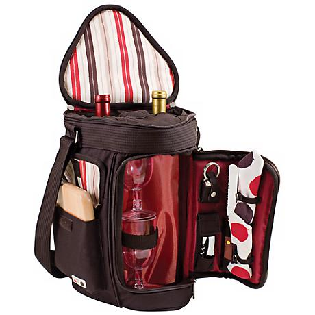 Picnic Time Meritage Moka Insulated Wine Tote