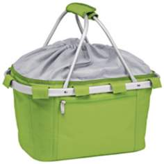 Picnic Time Metro Collapsible Lime Green Basket
