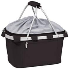 Picnic Time Metro Collapsible Black Basket