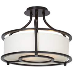"Southampton 16"" Wide Oil-Rubbed Bronze Ceiling Light"