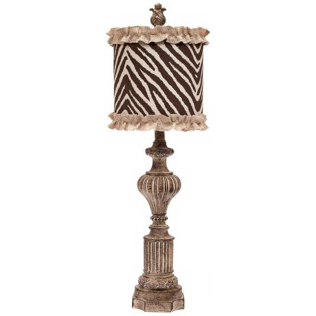 Swoon Decor Small Zebra Table Lamp