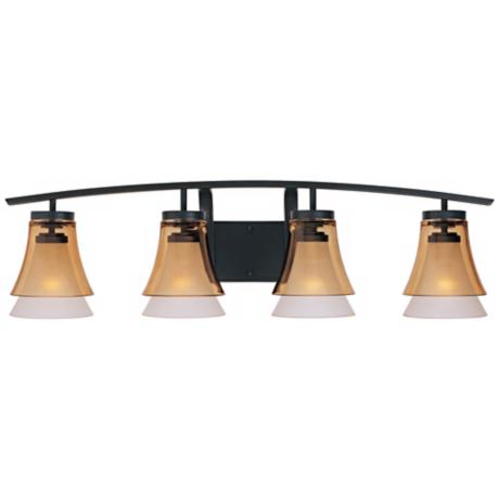 "Majorca 36"" Wide Oil-Rubbed Bronze Bathroom Light"