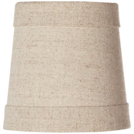 Springcrest™ Natural Linen Shade 4x5x5 (Clip-On)