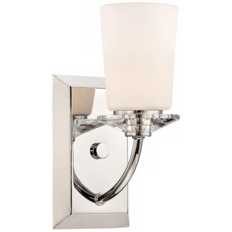 "Palatial 4 3/4"" Wide Chrome Wall Sconce"