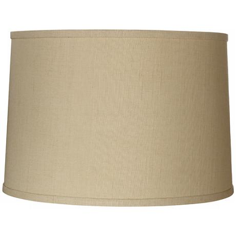 Springcrest™ Herbal Linen Drum Shade 15x16x11 (Spider)