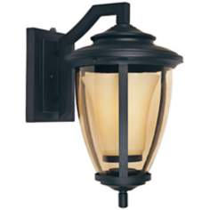 "Stockholm ENERGY STAR 11"" Wide Bronze Outdoor Wall Lantern"