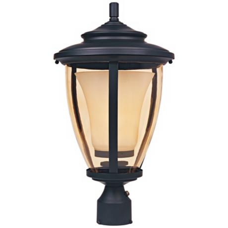 "Stockholm 11"" Wide Bronze Outdoor Post Light"