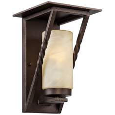 "Parkview 11 1/4"" High Flemish Bronze Outdoor Wall Light"