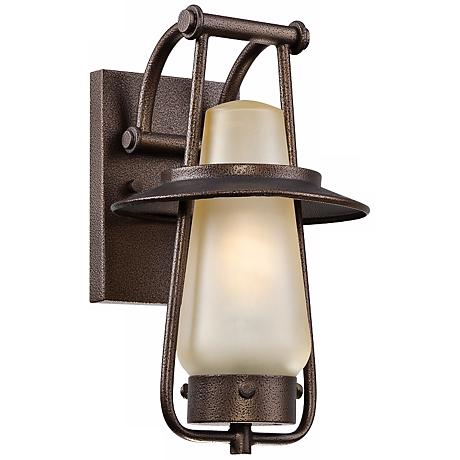 "Stonyridge 7"" Wide ENERGY STAR Bronze Outdoor Wall Lantern"