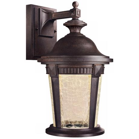 "Whitmore 15 3/4"" High Mystic Bronze Outdoor LED Wall Light"